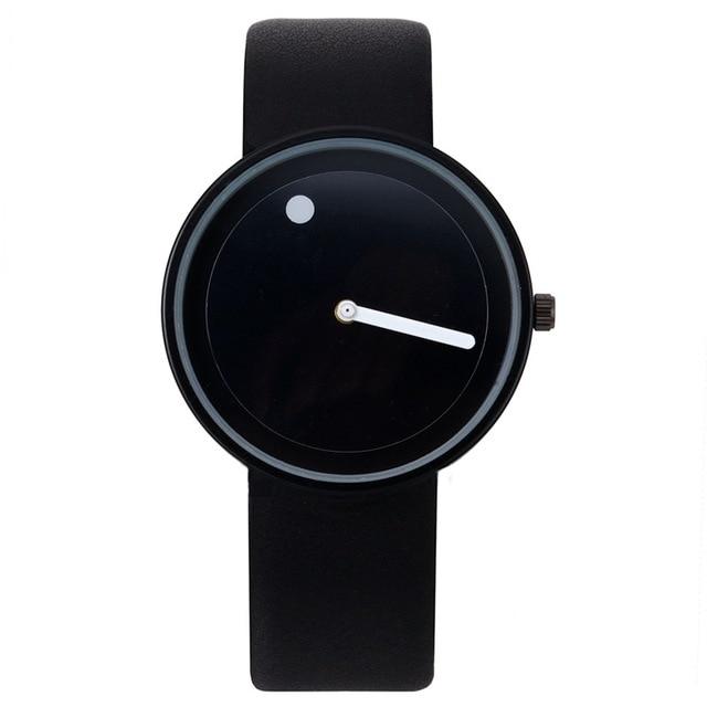 Fashion Creative watches women men quartz-watch brand unique dial design lovers