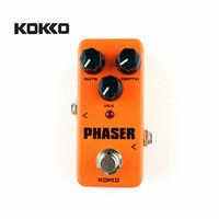 KOKKO FPH2 Orange Mini Electric Guitar Amplifier OD Effect Pedal Guitarra Pedal Phaser Portatil For Musical