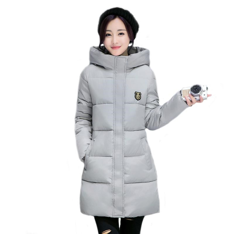 New Long Parkas Female Women Winter Coat Thickening Cotton Winter Jacket Outwear Parkas for Women Winter