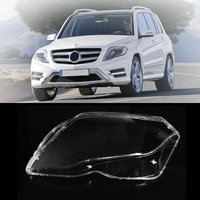 New Waterproof Dustproof Clear Front Left Headlamp Headlight Cover Shell For Mercedes Benz GLK 2013 2014