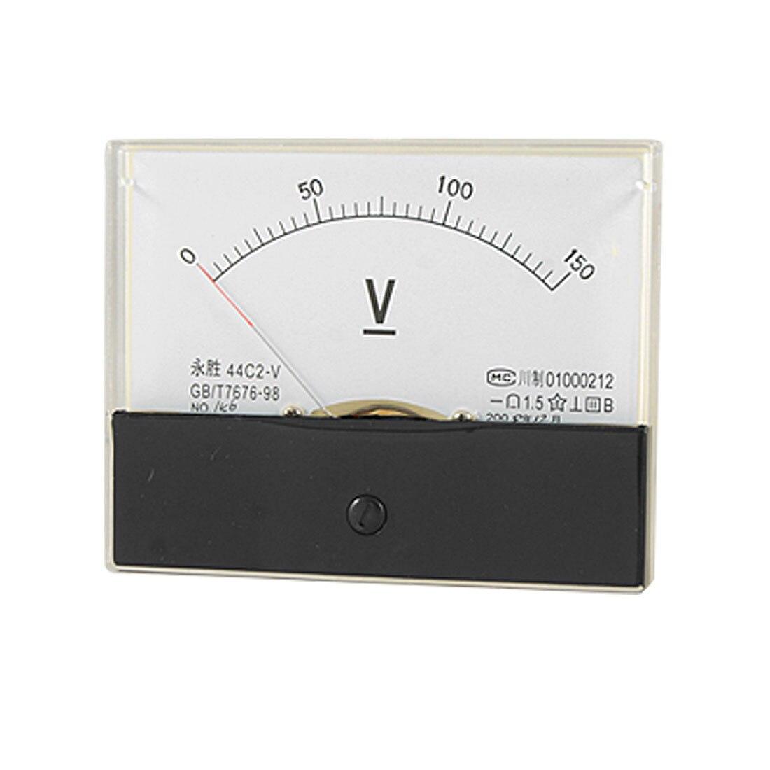 Класс 1.5 Точность 0-150 В Напряжение Panel Meter Аналоговый Вольтметр 44C2. | 150 В