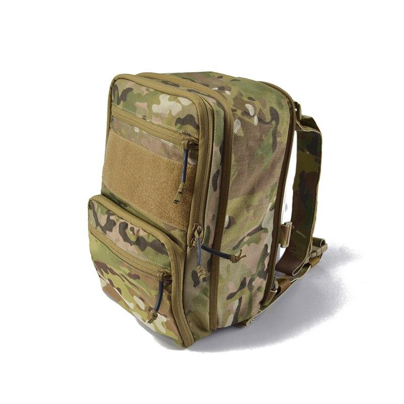 8L Haley Flatpack sac d'hydratation sac à dos d'eau tactique armée Molle compresser Bug Out sac sac à dos extérieur randonnée Camp TW-HP004