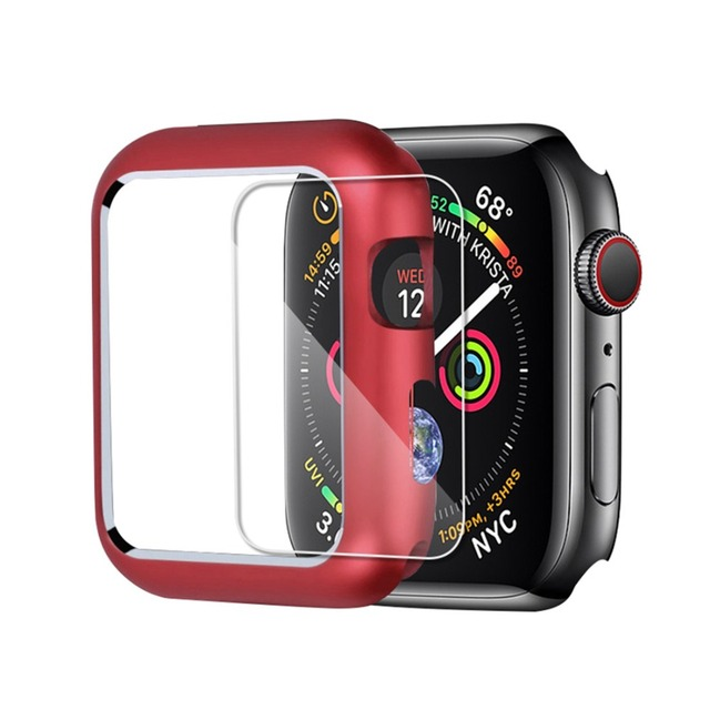 CRESTED Magnetic cover For Apple Watch case apple watch 4 3 44mm/42mm iwatch band 40mm/38mm screen protector protective glass 1
