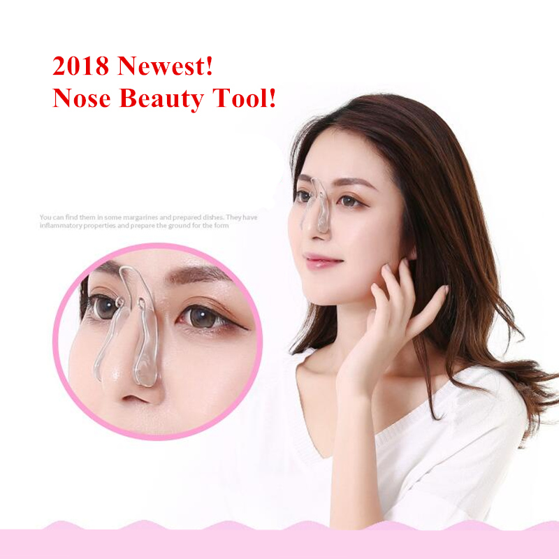 ZD 1pc New Upgraded Version Nose Clips Correction Tool Shaping Straightening Professional Nose Beauty Massage Tools Hot XN535M ckeyin electric vibrations nose massage nose clip up nose lifting shaping shaper bridge straightening massager for face slimming