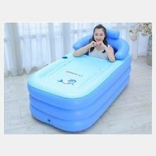 Ванна для взрослых портативная пластиковая надувная ванна гидромассажная