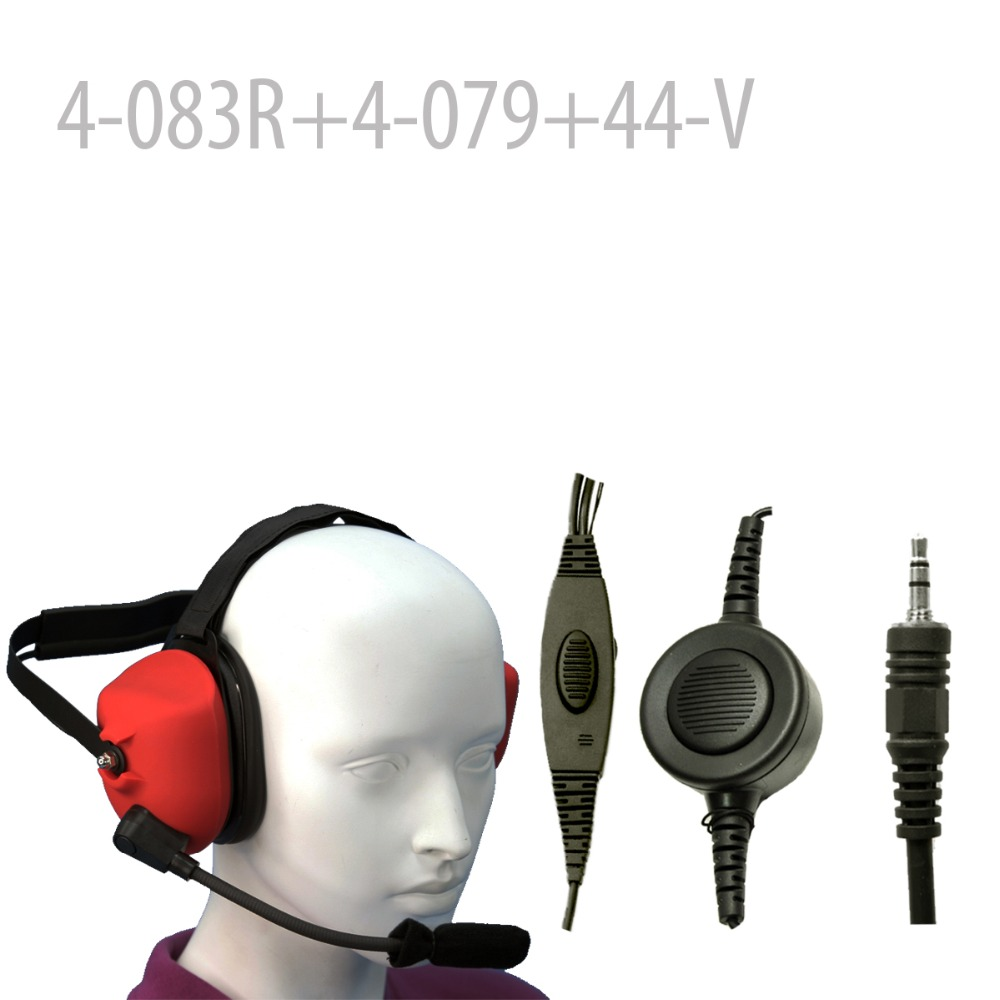 Heavy duty Noise Headset (R) +Mini Din Plug 44-V for Visar series Heavy duty Noise Headset (R) +Mini Din Plug 44-V for Visar series