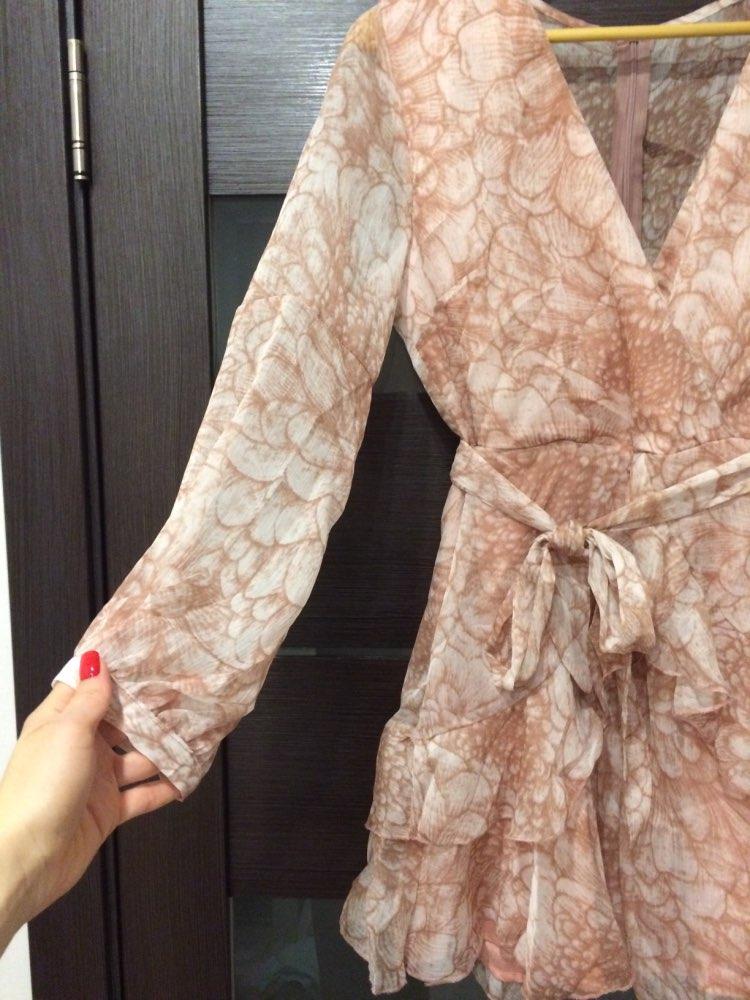 Vintage Ruffle Long Sleeve Dresses Women Print Elegant Chiffon Sashes Summer Female Dress Sexy Party Short Vestidos photo review