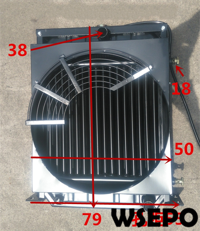 Top Quality! Oil Cooling Type Water Tank/Radiator fits for 4100/4102/4105 4 Cylinder Water Cooling Diesel EngineTop Quality! Oil Cooling Type Water Tank/Radiator fits for 4100/4102/4105 4 Cylinder Water Cooling Diesel Engine