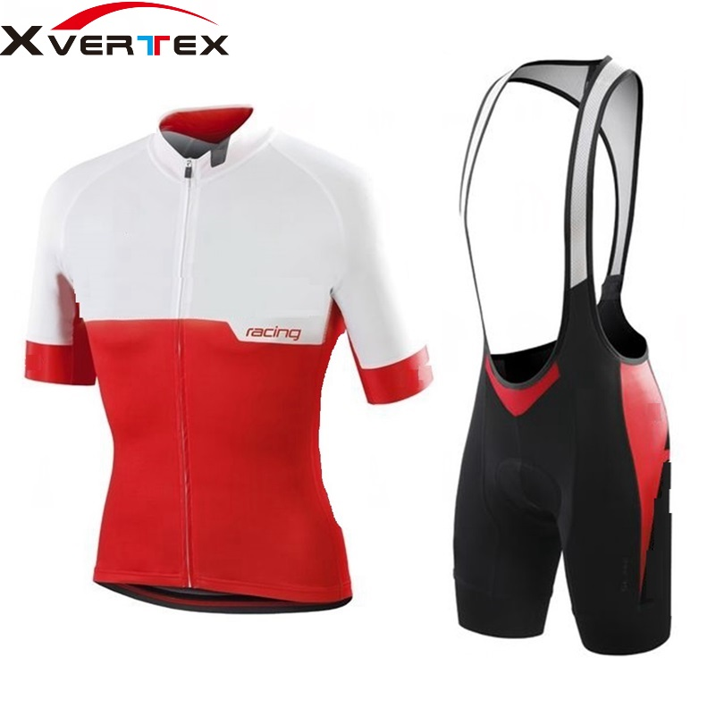 Ropa ciclismo 2018 SL Pro RBX Team racing cycling Jersey and bib shorts Men's cycling kit Summer Riding suit bicycle clothing