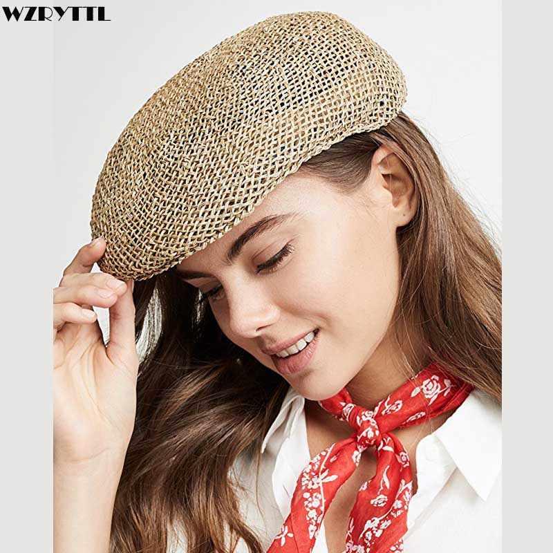 Unisex Gatsby Visor Hat Man Women Newsboy Cap Summer Sun Hat Kentucky Derby  Twisted Seagrass Ivy Straw Cap Cabbie Cap Beret Hat|Men's Newsboy Caps| -  AliExpress