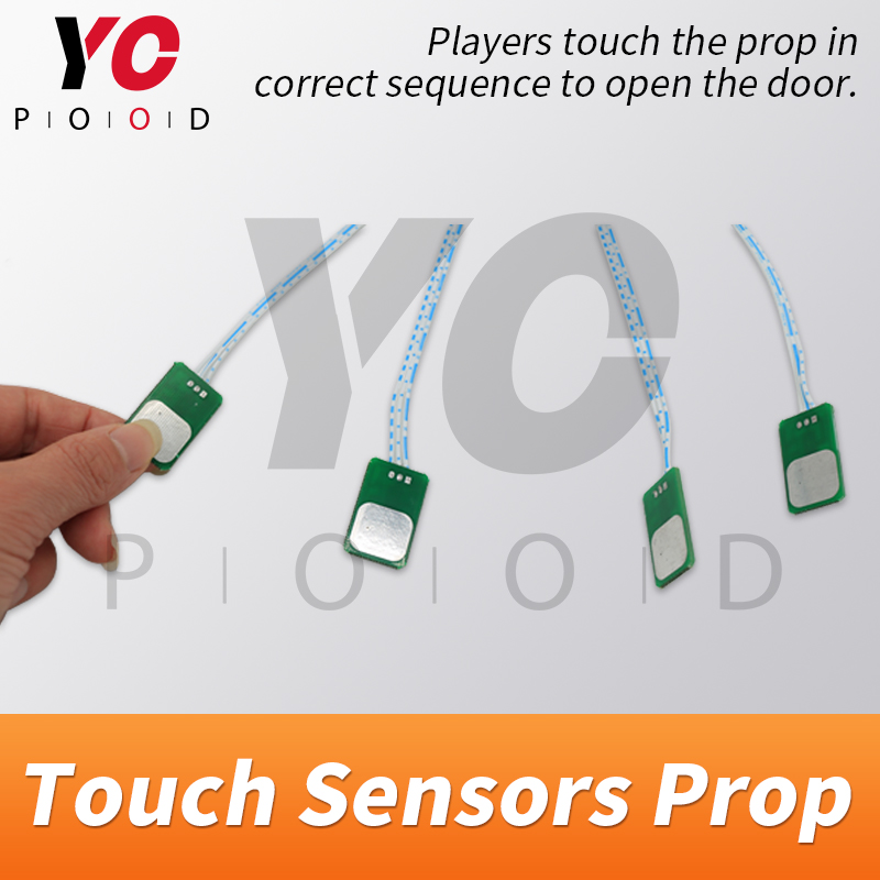 Image 2 - YOPOOD Touch Sensor Prop Escape Room Touch in Correct Sequence to Unlock Takagism Game Real Life Adventure Game Chamber Room-in Access Control Kits from Security & Protection