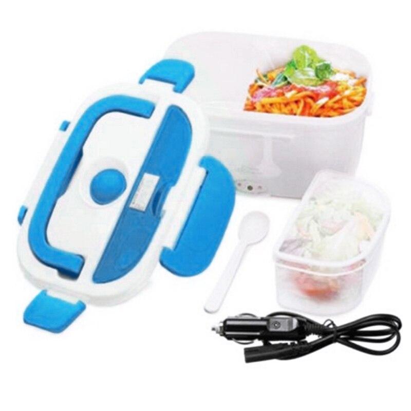 1.05L caja de almuerzo estufa portátil 12 V coche comida caliente de almacenamiento de alimentos caliente calienta contenedor horno eléctrico Bento cajas de Camping lonchera
