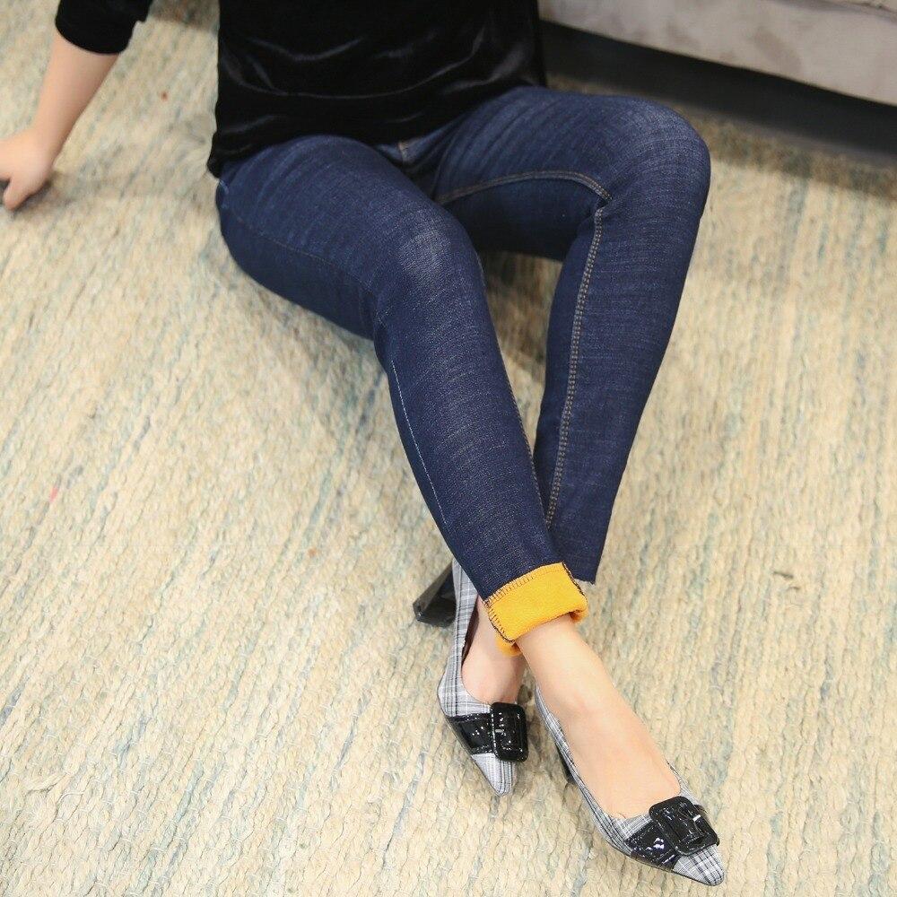 Caliente Las Mujeres Vaqueros Xl Pantalones 2018 Nuevo Casual Mujer Más El Moda 1 Flaco Jeans 4xl Lápiz De Alta Cintura Tamaño nxgr7n