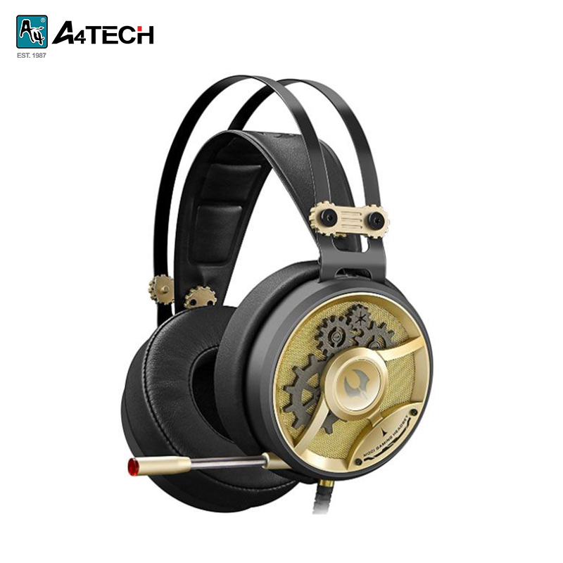 Gaming headset A4Tech Bloody M660 hl good quality original wireless headset bluetooth headphone headband headset with fm tf led indicators for iphone cell phone
