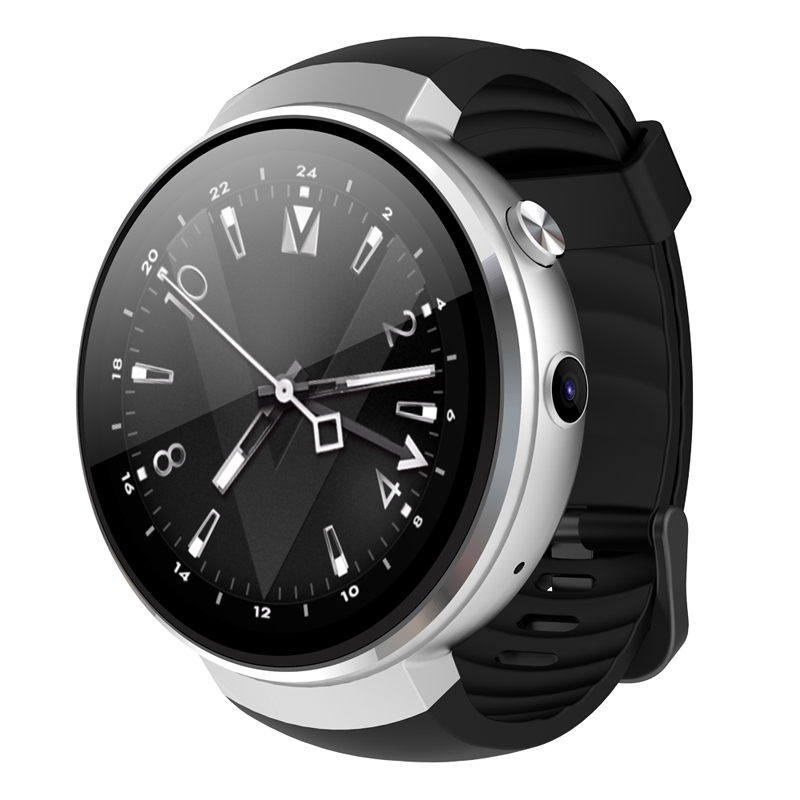 AMOLED Z28 1 + 16 GB Relógio Inteligente Mtk-6737m LTE-4G Rede Android 7.0 Coração GPS Rastreador Inteligente Relógio para Homens IOS suporte para XiaoMi
