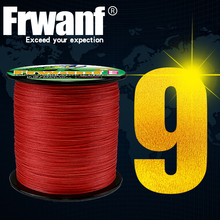 Frwanf 300M 9 Strands PE Braided Fishing Line Super Strong Strength Rope 9 Strand Multifilament Carp Fishing Line 15-110LB frwanf 8 strand japan super strong pe braided fishing line multifilament fishing line 500m braid thread black 8 braid 6lb 300lb