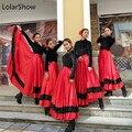 9136376d3 Faldas de Flamenco falda de danza del vientre ropa de español trajes de  baile Flamenco trajes