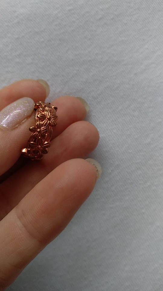 Bamos Female Cute Daisy Flower Finger Ring Vintage Rose Gold Filled Engagement Rings For Women Fashion Wedding Jewelry Best Gift