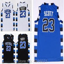 DWAYNE Mens One Tree Hill Movie Basketball Jerseys 23  Nathan Scott Jersey  Stitched Cheap Shirts Three Color 3493c8a64