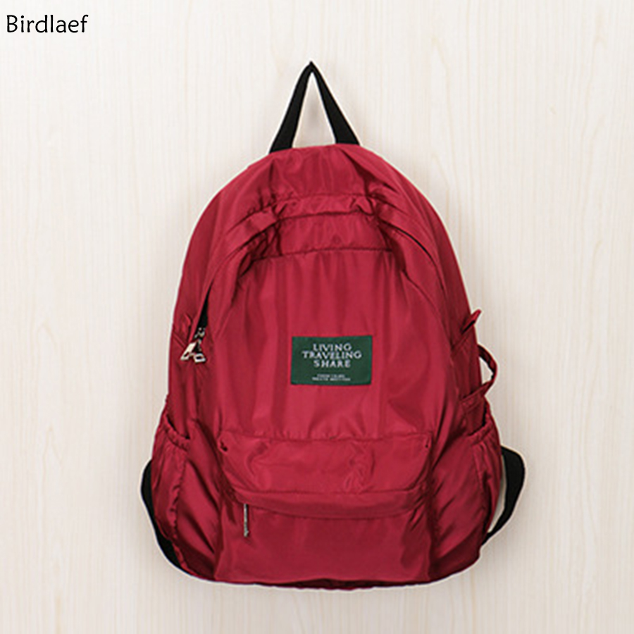 Birdlaef ylon shoulder bag soft girl classic retro campus portable light soft schoolbag