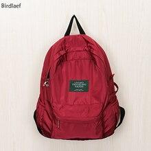 Birdlaef илон сумка мягкая девушка классический ретро кампус портативный свет мягкий школьный
