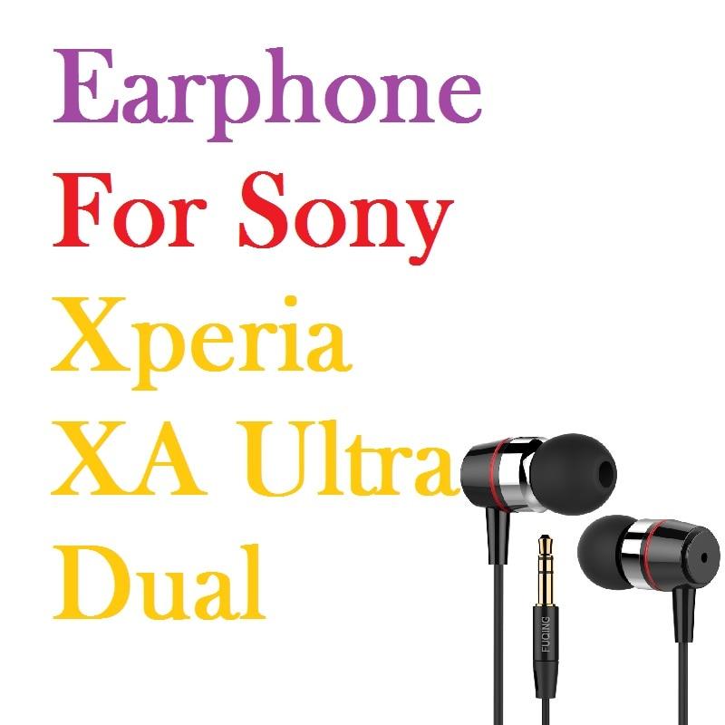 все цены на Super bass earphones Metal-Ear Universal 3.5MM clear voice amazing sound earphone for Sony Xperia XA Ultra Dual Free Shipping онлайн