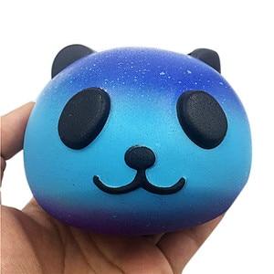 galaxy cute 10cm panda squishy