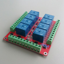 RM08E 8-way relay control module / bidirectional optocoupler isolation high and low level optional 5V 12V 24V