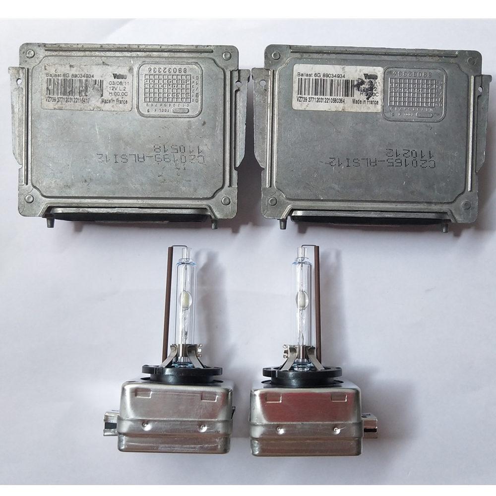 2x OEM Pour 08-14 BMW 1' E81 E87 E82 E88 128i 135i Ballast Au Xénon 63117180050 avec D1S Ampoule Unité De Contrôle
