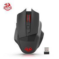 Redragon M653 MIG Wireless Gaming Mouse RGB 2.4G USB Receiver Optical Sensor Professional 6 Buttons Office Mice for LOL Dota MSI