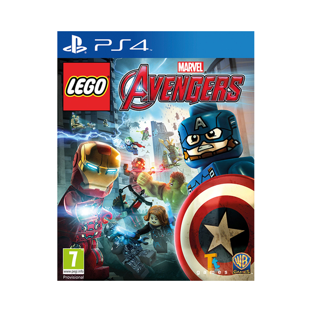 Игра для PlayStation 4 LEGO Marvel Мстители