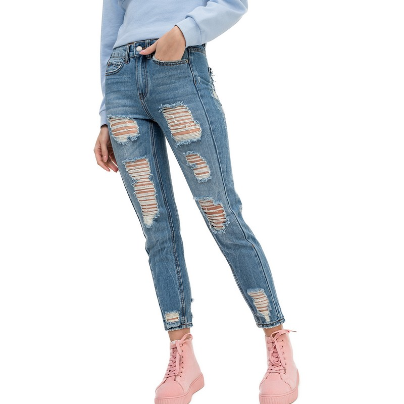 Jeans befree for female cotton pants women clothes apparel  1811319760-102 TmallFS