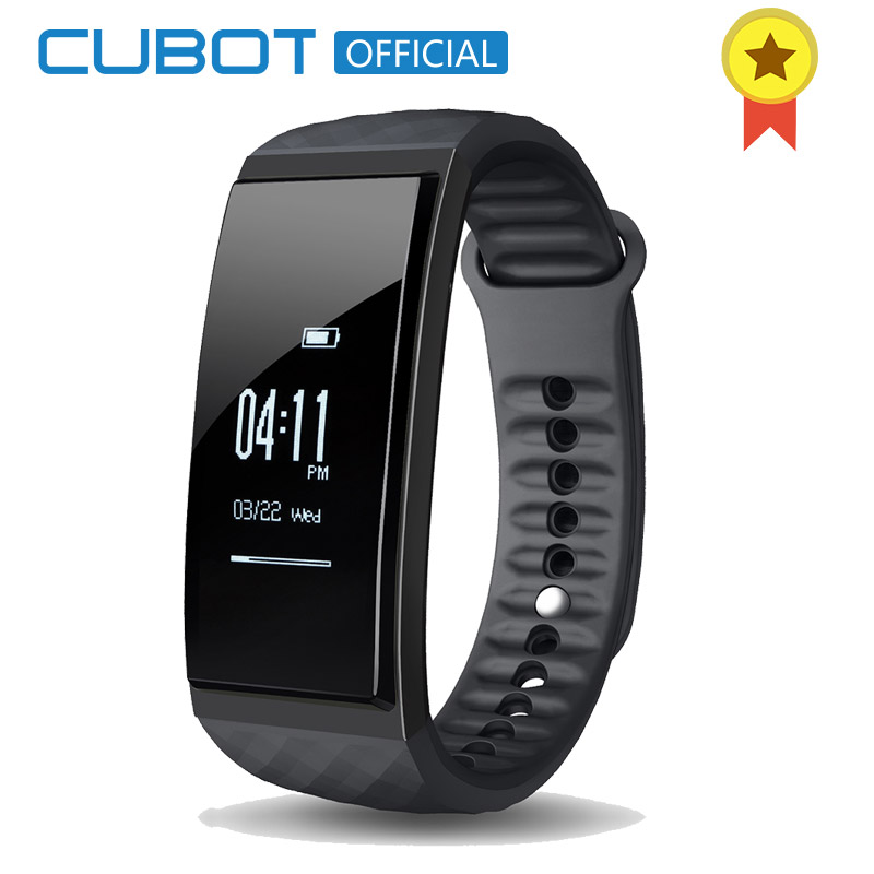 Cubot S1 Heart Rate Sleep Intelligent Monitor Wristband Multi-Mode Fitness Activity Tracker Bracelet for IOS and Android mio fuse heart rate training activity tracker
