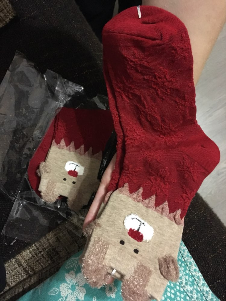 new 2018 women sock winter warm christmas gifts stereo - 750×1000