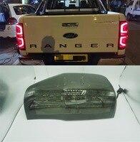 2012 2013 2014 2015 2016 2017 2018 rear LIGHTS DRL led rear lamp for ford ranger t6 t7 xlt RANGER tail lights brake lights