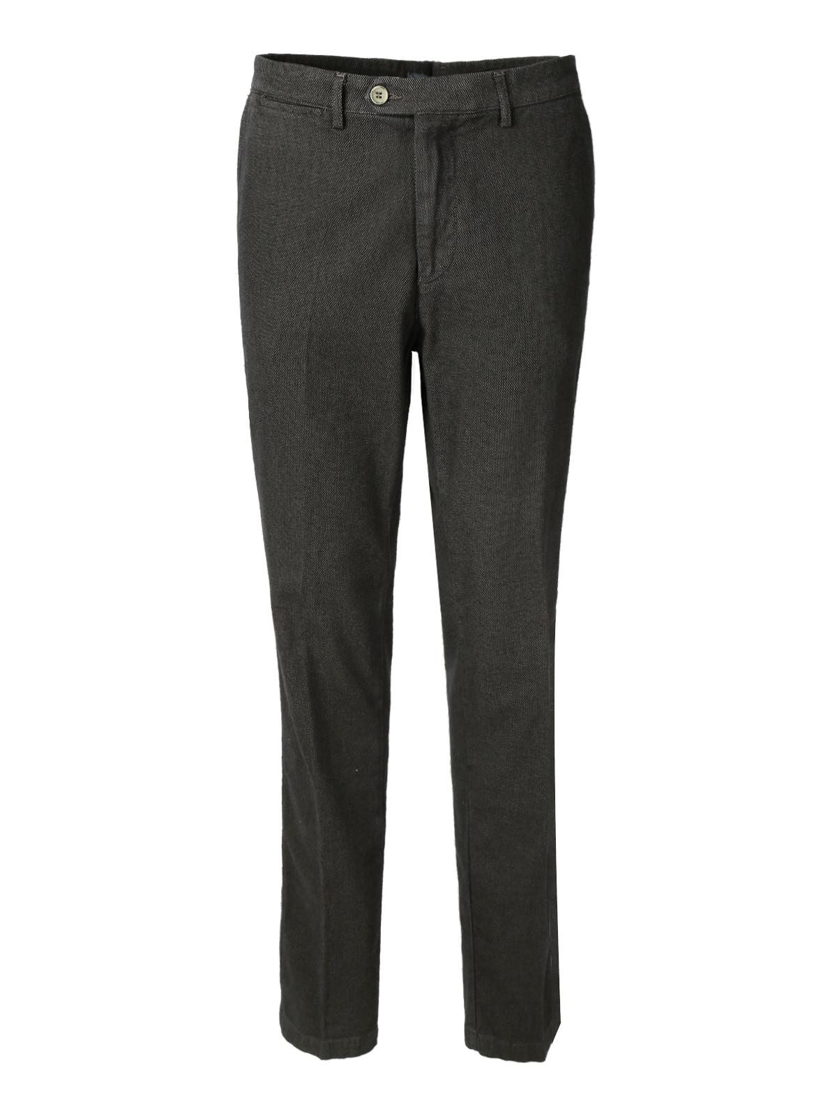 Textured Pants Black/beige