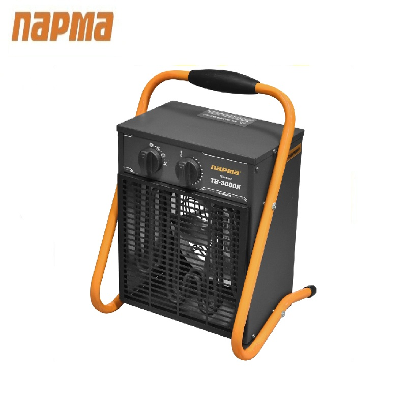 Electric fan heater Parma TB-3000K Hotplate Facility heater Area heater Space heater 240mmx240mm 300w 110v ntc100k 3m adhesive electric heating plate silicone heater 3d printer heater silicone heated pad flexible