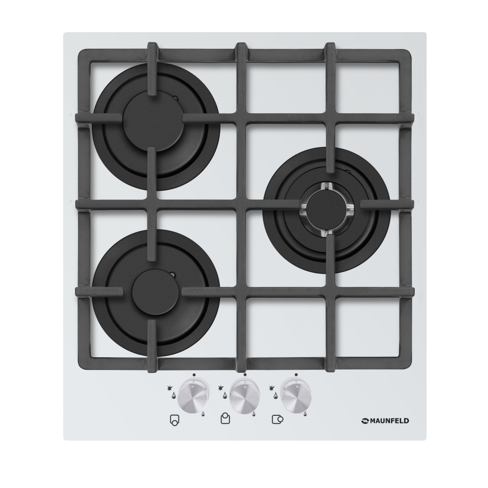 Cooking panel MAUNFELD EGHG.43.33CW/G White cooking panel maunfeld eghg 64 2cw g white