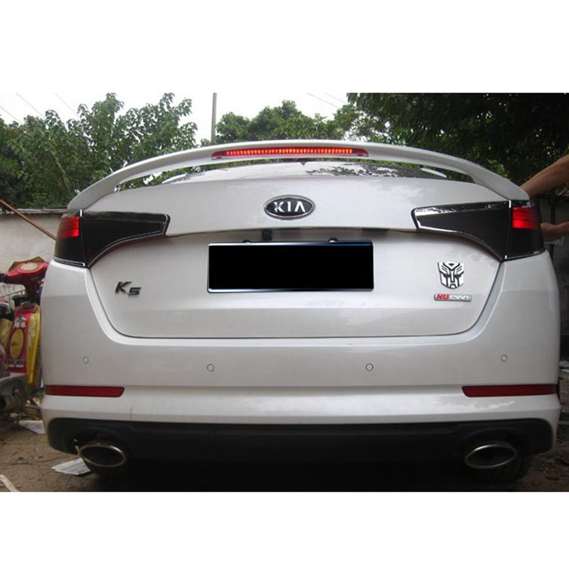 For Kia Optima K5 Spoiler High Quality Abs Material Car Rear Wing