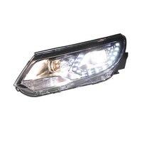 Фары для автомобиля запчасти укладки бег Drl автомобилей Automovil лампы параметры люксов освещения авто аксессуары светодио дный фонари Volkswagen