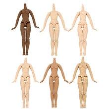 Lalki Blyth wspólne body Azone ciała 8.5 cal męskie ciało biała skóra, ciemna skóra, tan skóry, naturalna skóra, nadaje się do Blyth ICY licca lalki