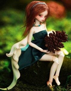 Image 2 - HeHeBJD IVY 1/8 ชุดเด็กผู้หญิงตุ๊กตาปาล์มตุ๊กตาดวงตาฟรีจัดส่งฟรี