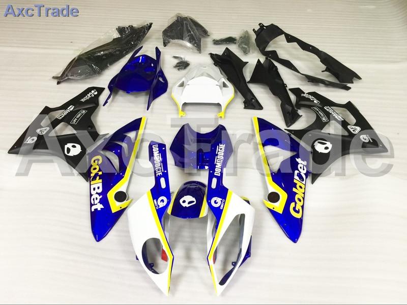 Мотоцикл Обтекатели для BMW S1000RR С1000 2012 2013 2014 12 13 14 АБС-пластик инъекции обтекатель кузова комплект синий белый черный