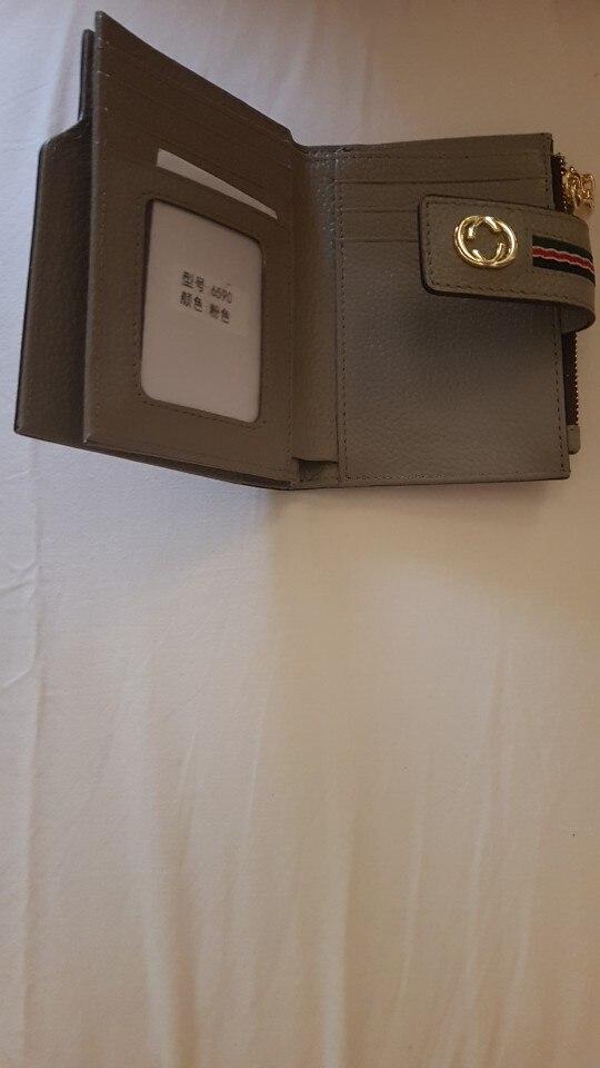 Vrouwen Designer Lederen Portemonnee Beroemde Merken Gedrukt Magnetische Gesp Dames Portemonnee Luxe Vrouwelijke Gedrukt Kwastje Tas photo review