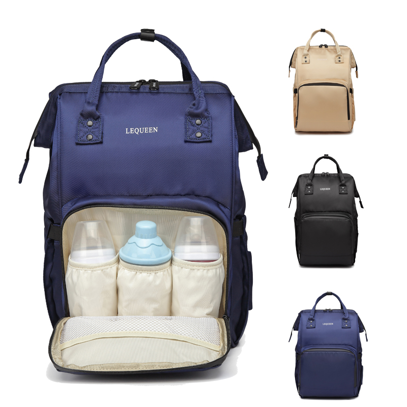 Lequeen Diaper Bag Backpack Fashion Mummy Maternity Bags For Mother Large Waterproof Baby Care Nappy Changing Bag For Stroller ! lequeen maternity mummy diaper bag baby care travel outdoor nappy backpack handbag bag for mother backpack nappy changing bags