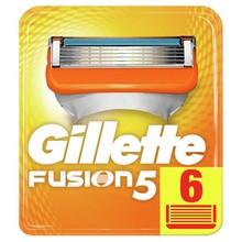 Сменные кассеты для бритья Gillette Fusion (6 шт.)