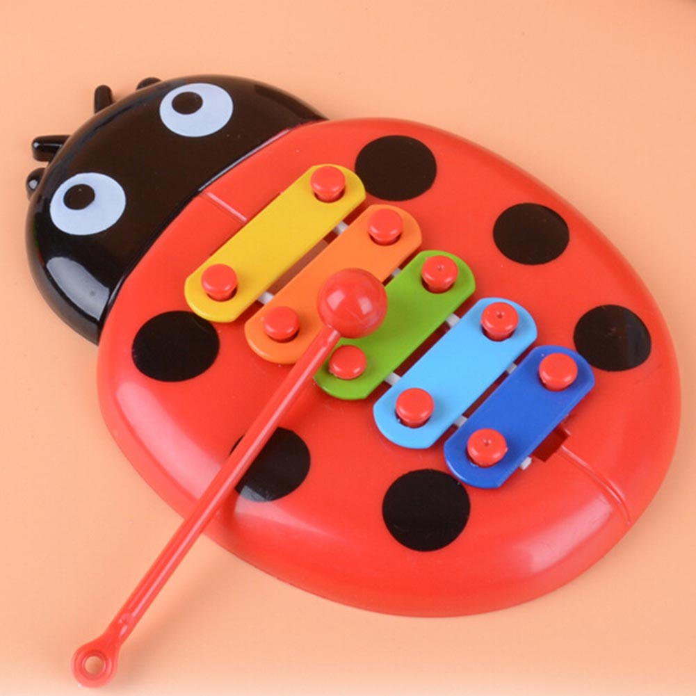 Baby Puzzle Insects Piano Early Music Eight Children Percussion Instrument Toys