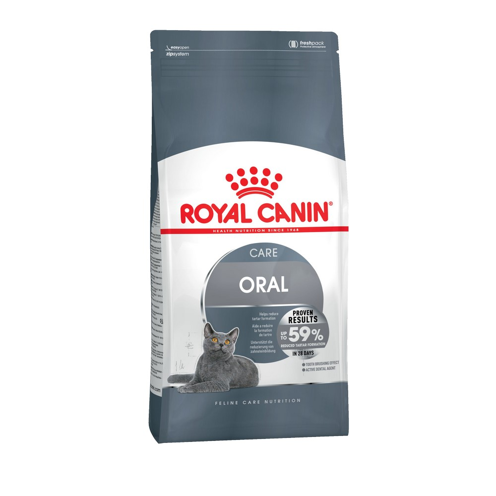 Cat food Royal Canin Oral Care, 8 kg cat food royal canin hairball care 10 kg