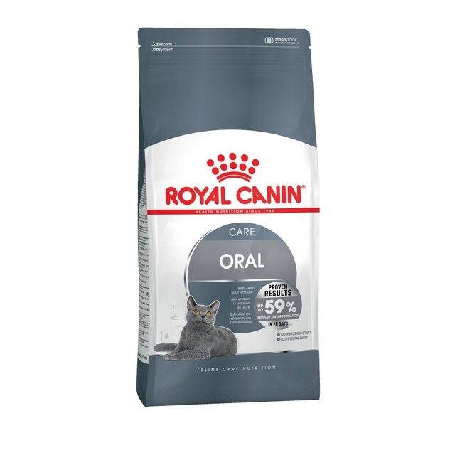 Royal Canin Oral Care корм для профилактики образования зубного налета и зубного камня у кошек, 8 кг