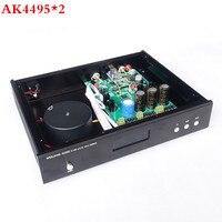 Бриз аудио и weiliang аудио обновленная версия AK4495 * 2 + AK4118 + USB ЦАП на XMOS декодер оптический коаксиальный вход RCA выход